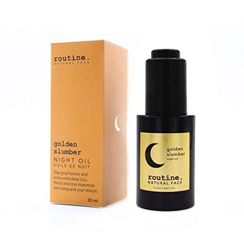 Routine's Golden Slumber Face Oil 30ml