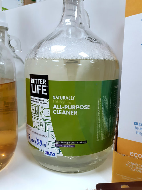 Clary Sage All-Purpose Cleaner: sold per 100ml