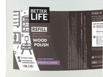 Natural Wood Polish: sold per 100ml