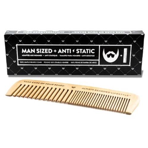 Anti-Static 100% Maple Beard Comb