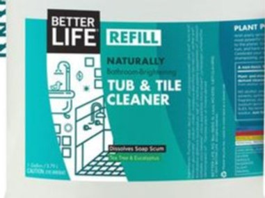 Bathroom Brightening Tub & Tile Cleaner: sold per 100ml