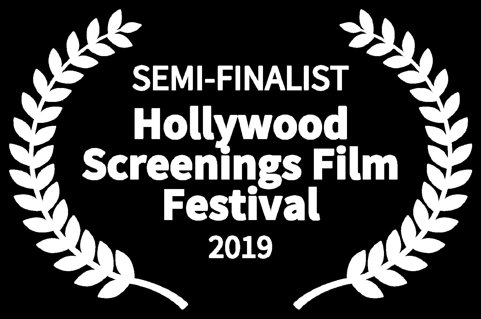 SEMI-FINALIST - Hollywood Screenings Fil