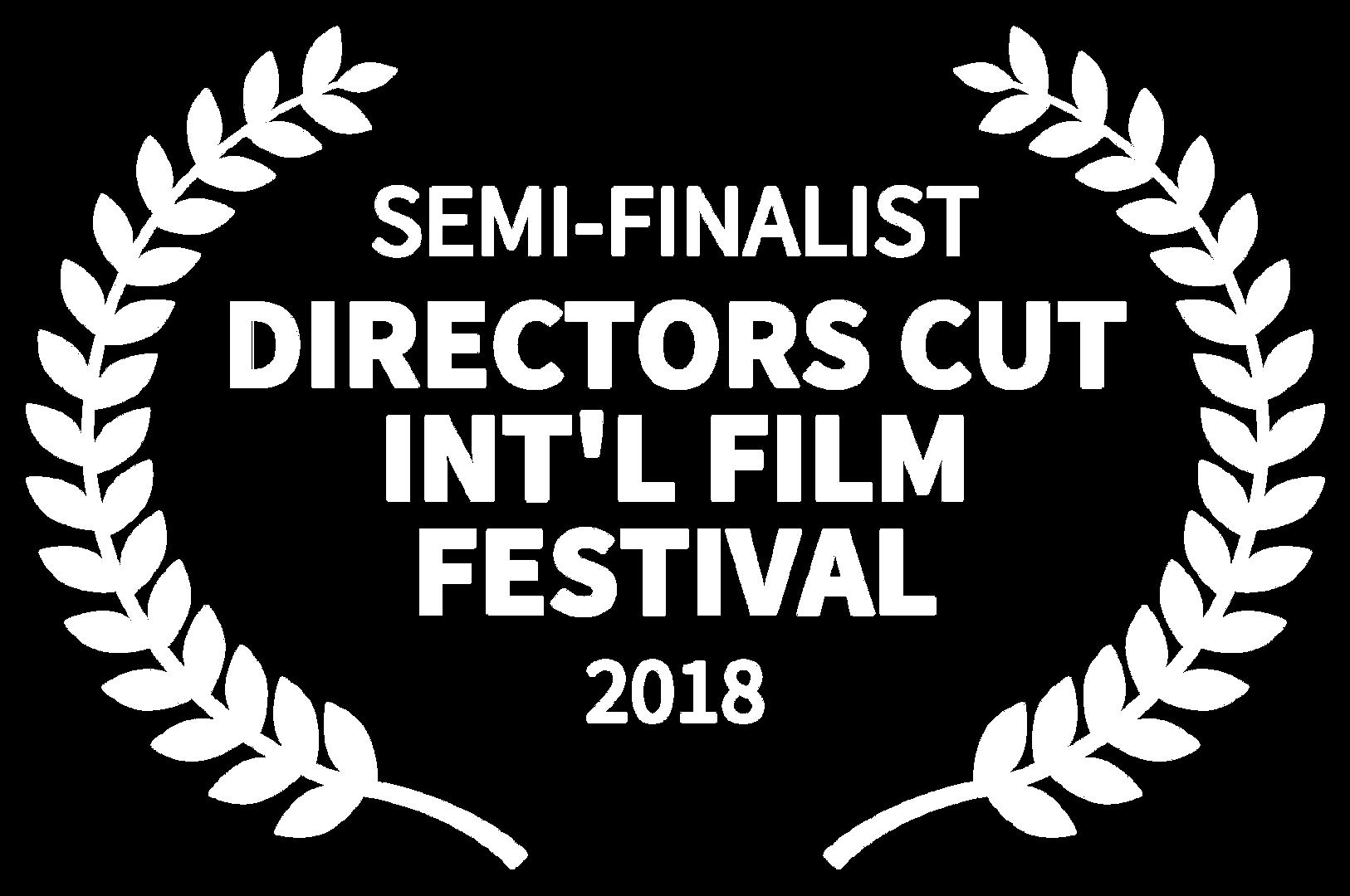 SEMI-FINALIST - DIRECTORS CUT INTL FILM