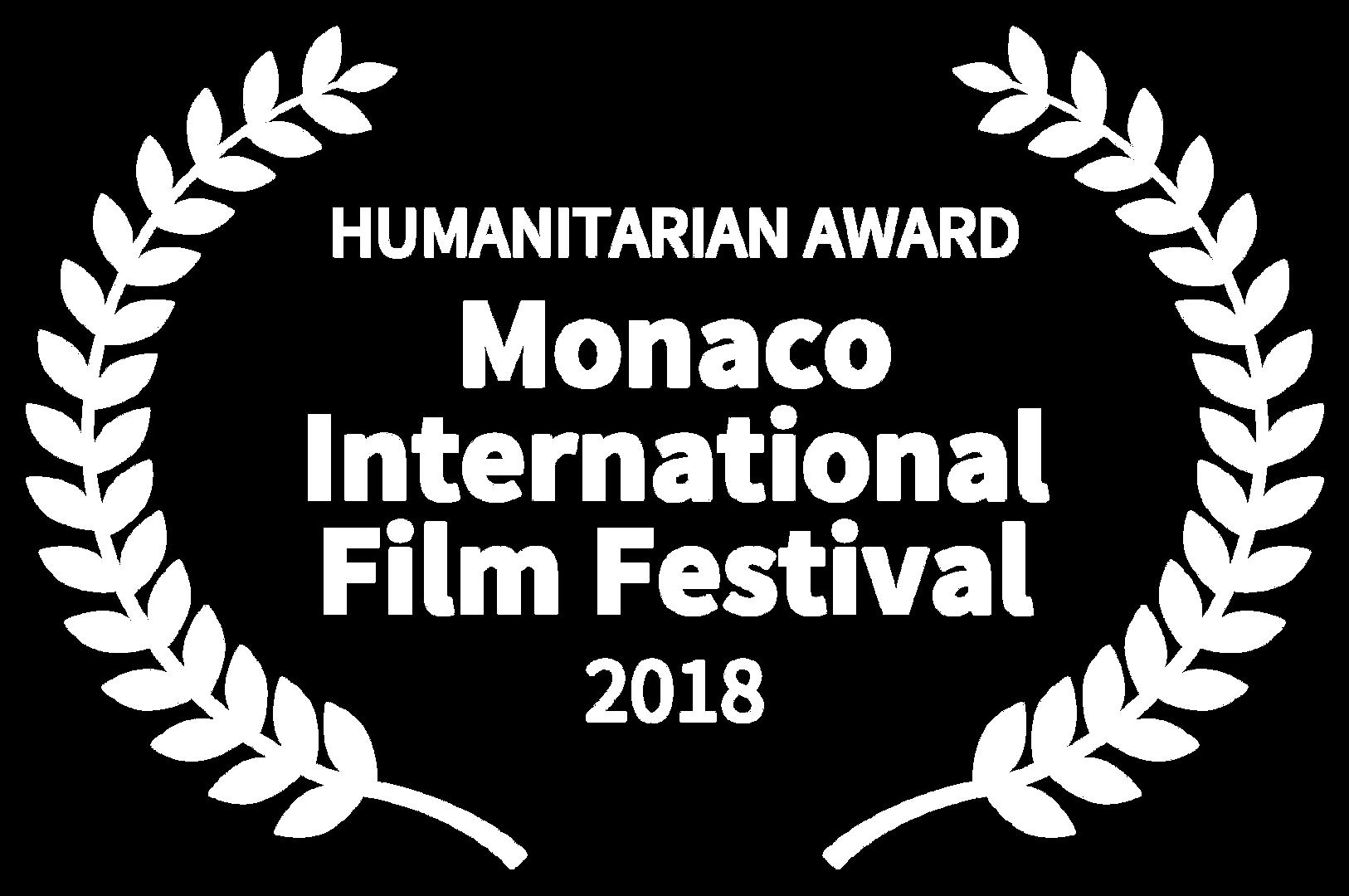 HUMANITARIAN AWARD - Monaco Internationa