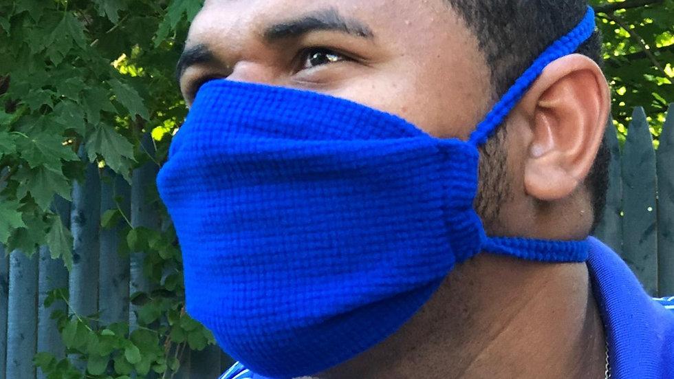 Royal Blue Mask