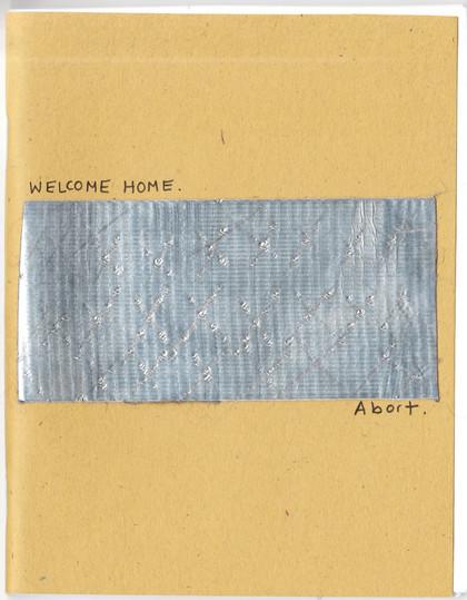Welcome Home Zine