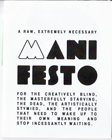 Manifesto Zine