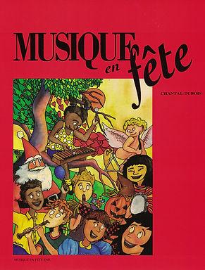 Les Éditions Musique en fête,  Chantal Dubois auteure