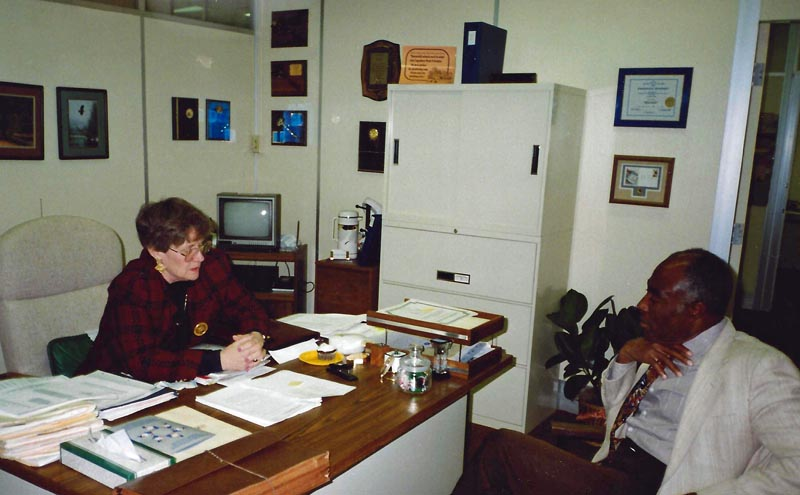 Dr. Carl as Assistant Superintendent