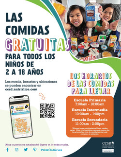 Free Meals - Spanish