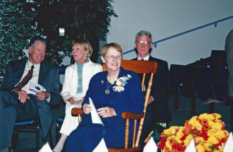 Dr. Carl's retirement celebration.