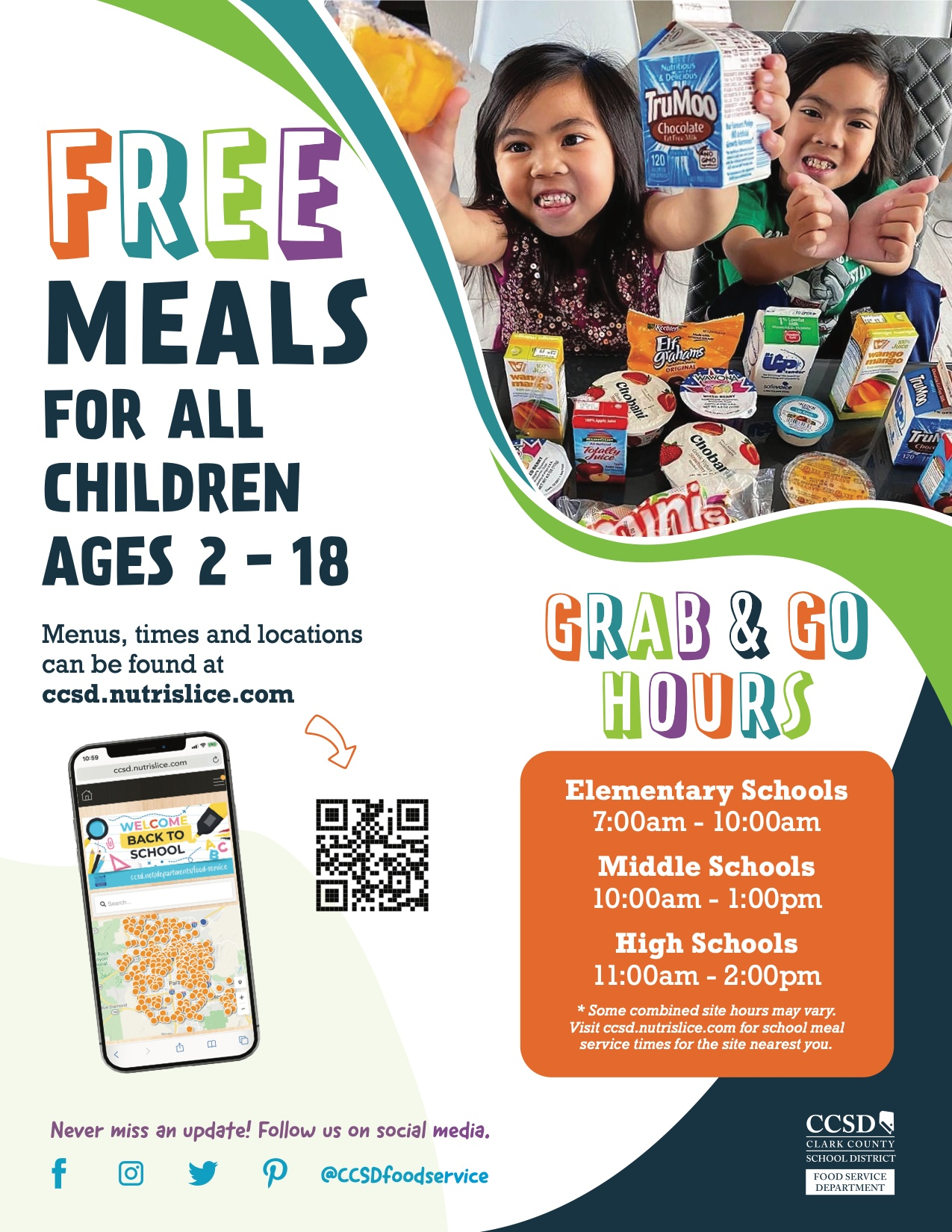 Free Meals - English