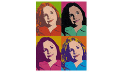 Warhol-style image about genes
