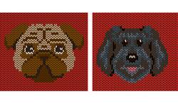 Dog Breed Sweater Illustration