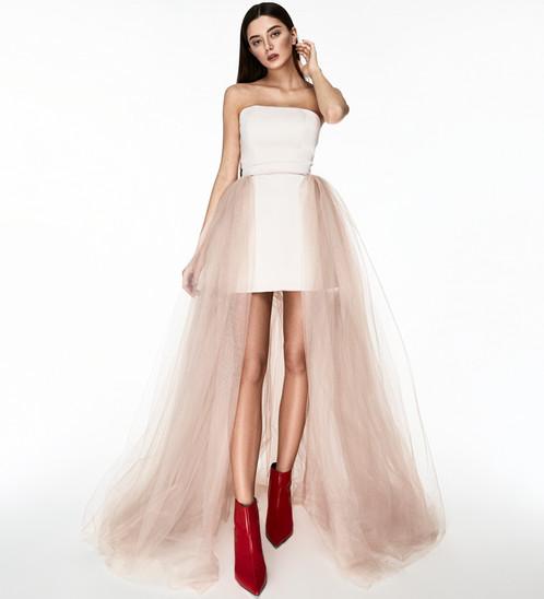 Фото фатиновое платье 126