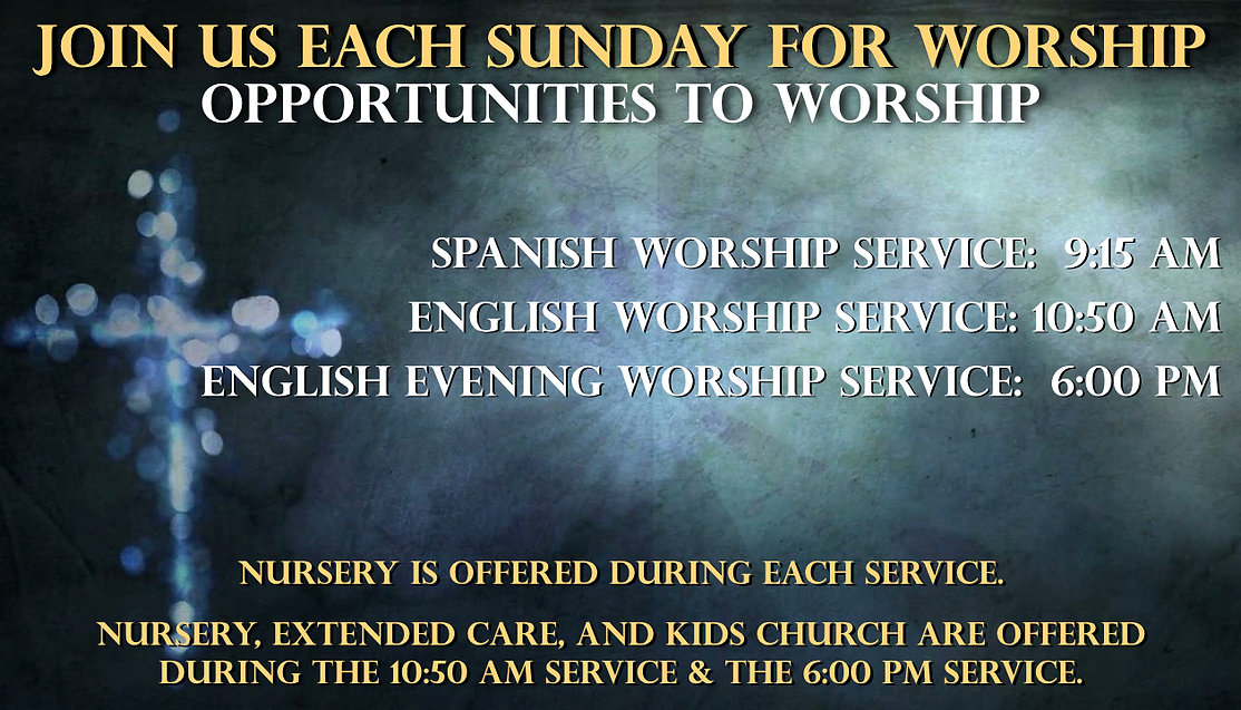 FBC McAllen | Come Worship With Us