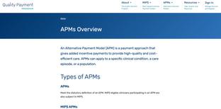 QPP APMs