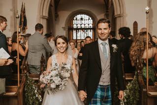 Claire & Tank's Elegant Marquee Wedding