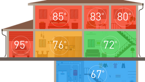 Is every room in your home a different temperature?