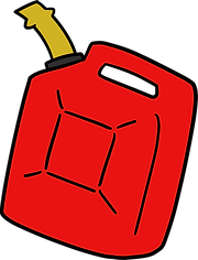 Gasoline Can - Symbol for utilities