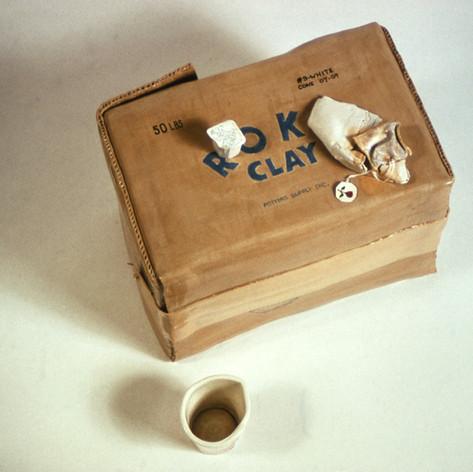 Clay Box with Tea