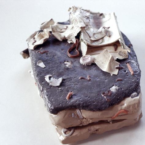 Trash Cake with Carton