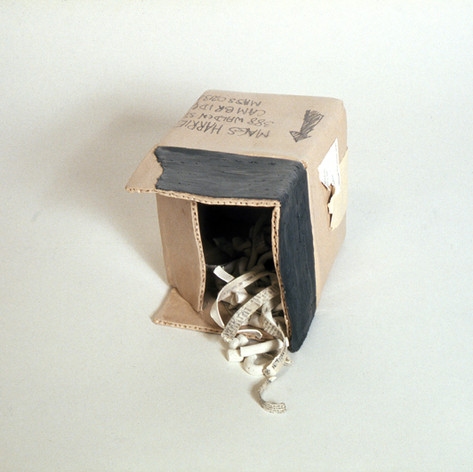 Clay Box with Packing