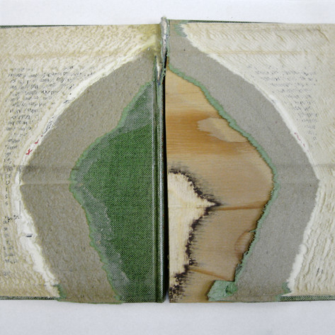 Altered found book