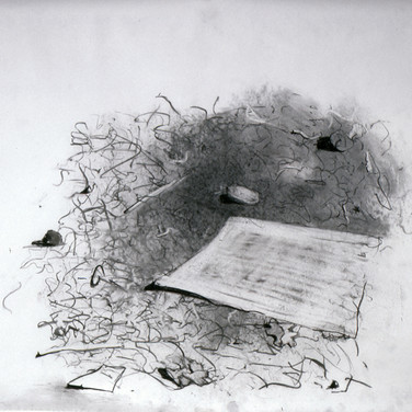 Fragment with Paper
