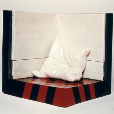 Portrait of a Nude Pillow