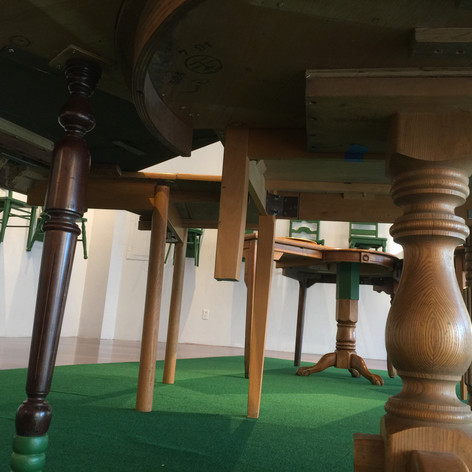 One Legged Table: Revisited