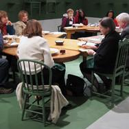 One Legged Table