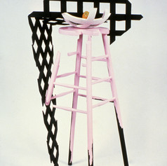 Light & Shadow or Light & The Pink Stool
