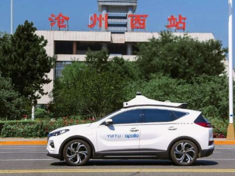 百度獲批經營自動化的士   率先於河北省推出收費服務