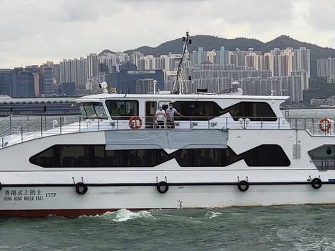 水上的士7月3日起逢周六晚試營運 7.1開出慶回歸特別班次