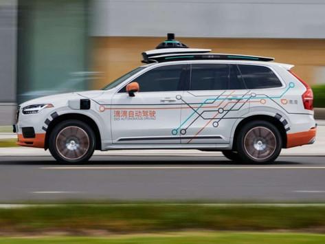 Volvo 夥拍滴滴出行   組建自動駕駛的士車隊