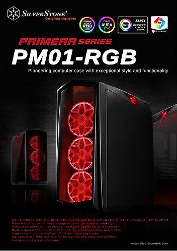 Silverstone  SST-PM01B-RGB Primera(Black)