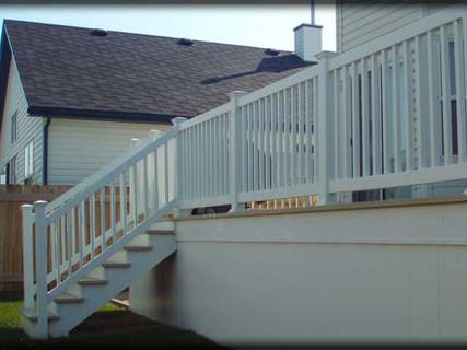 Deck, Railing, Skirting