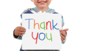 """How Often During The Day Do You Say The Words """"Thank You""""?"""