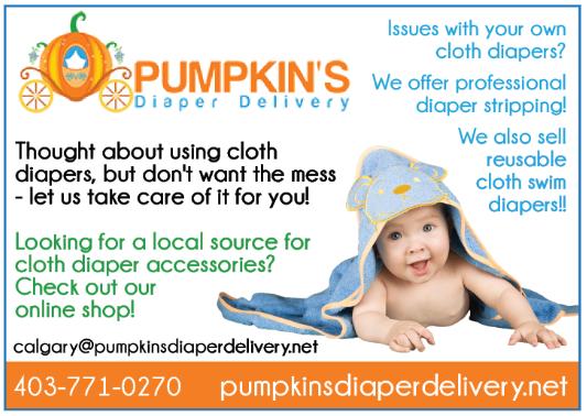 Pumpkin Diapers
