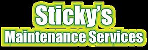 Sticky's Maintenance Services logo