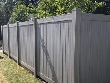 6ft Aged Cedar Privacy Fence