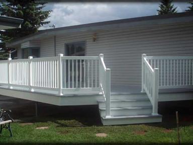 Picket Railing, Deck, Stairs