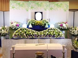 生花祭壇 2,7m×2段飾り③