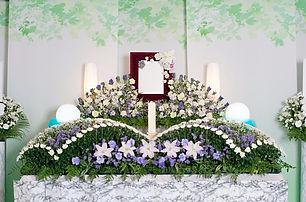 一般葬シンプルプラン祭壇写真