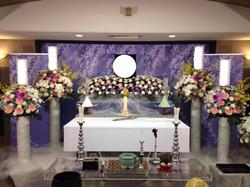 生花祭壇 2m×1段飾り⑥