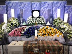 生花祭壇 2,4m×2段飾り③