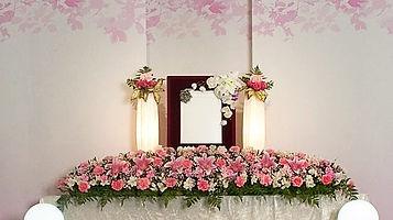 自宅用生花祭壇