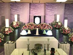 生花祭壇 2m×1段飾り③