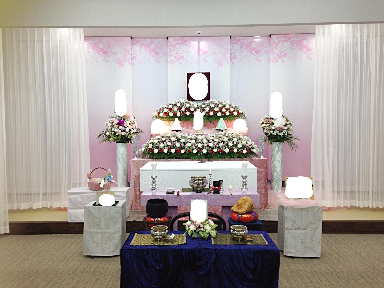 生花祭壇 2,4m×2段飾り⑤